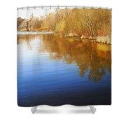 Autumn River Shower Curtain