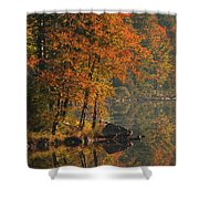 Autumn Scenic Shower Curtain