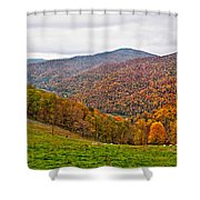 Autumn Song Shower Curtain