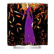 Autumn Spirit Shower Curtain