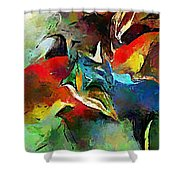Autumn Streamside 030212 Shower Curtain