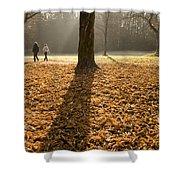 Autumn Stroll Shower Curtain