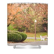 Autumn Stroll Shower Curtain