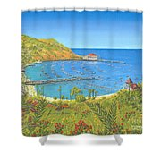 Avalon Catalina Island Shower Curtain
