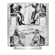 Averroes (1126-1198) Shower Curtain