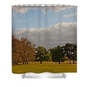 Avery Hill Park Shower Curtain