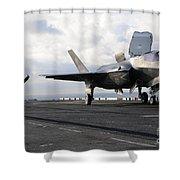 Aviation Boatswains Mate Signals Shower Curtain