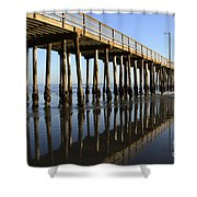 Avila Beach Pier California 2 Shower Curtain
