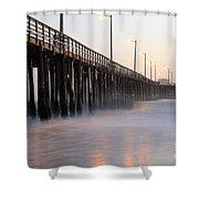 Avila Beach Pier California 5 Shower Curtain