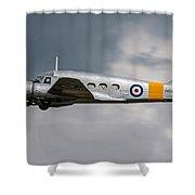 Avro Anson 3 Shower Curtain