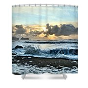 Awash In The Sea Shower Curtain