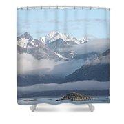 Aww Alaska Shower Curtain