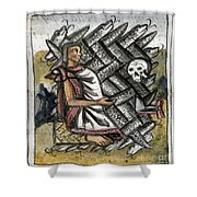 Aztec: Life And Death Shower Curtain