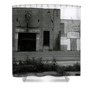 B 12 Recording Studio Shower Curtain