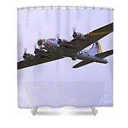 B-17g Liberty Belle Approach 8x10 Special Shower Curtain