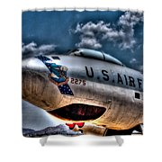 B-47 Stratojet Shower Curtain