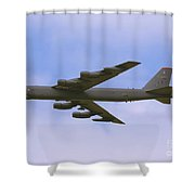 B-52 In Flight Shower Curtain