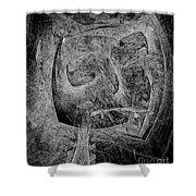 Abstraction 533 - Marucii Shower Curtain