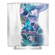 b.1950D Shower Curtain