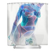 b.1950K Shower Curtain