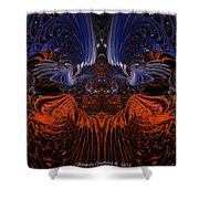 B7 Something From Below Fx  Shower Curtain