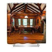 Babcock Cabin Interior 2 Shower Curtain