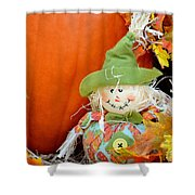Baby Scarecrow Shower Curtain