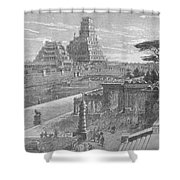 Babylon Shower Curtain by Science Source