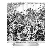 Babylonian Captivity Shower Curtain by Granger