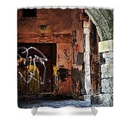Back Alley In Leon Shower Curtain
