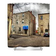 Back Alley Napanee Shower Curtain