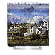 Back To Shoreham Shower Curtain