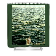 Back To The Sea Shower Curtain