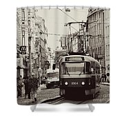 Back To Yesteryears Shower Curtain