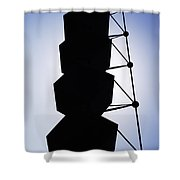 Backlight Structure Shower Curtain