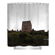 Backlit Castle Shower Curtain