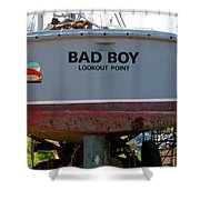 Bad Boy 0118 Shower Curtain