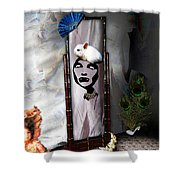 Bad Hare Day Shower Curtain