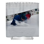 Bad Luck Shower Curtain