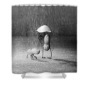 Bad Weather 01 Shower Curtain