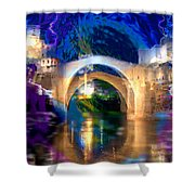 Bad Weather Coming Shower Curtain