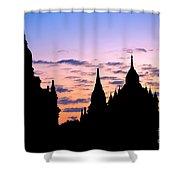Bagan Shower Curtain