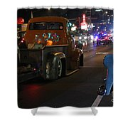 Bagged And Dragged In Austin Texas Shower Curtain