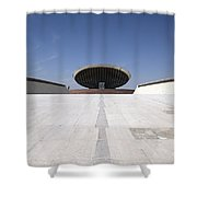 Baghdad, Iraq - The Ramp That Leads Shower Curtain