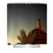 Baghdad Mosque In The Night Shower Curtain