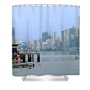 Bahia De Panama Shower Curtain