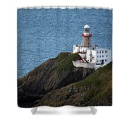 Baily Lighthouse Shower Curtain