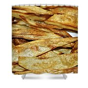 Baked Potato Fries Shower Curtain