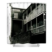 Balcony- French Quarter- New Orleans Shower Curtain