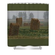 Bales For Sails Shower Curtain